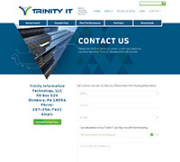 Trinity IT contact page
