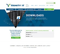 Trinity IT downloads page